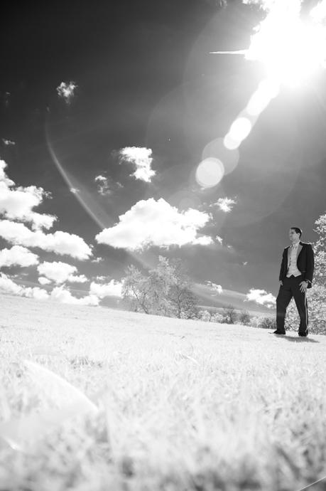 Infrared Wedding Photos in Orange County