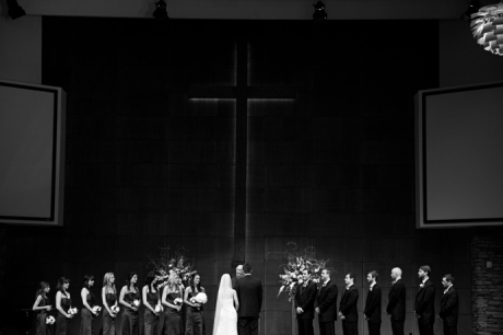 Infrared Wedding Photos