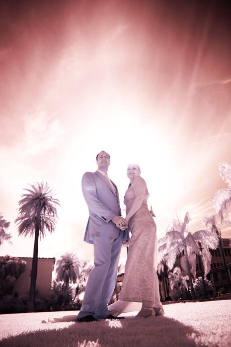 Infrared Wedding Photography in Santa Barbara