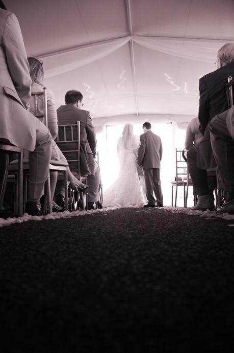 Infrared Wedding Photography in Newport Beach