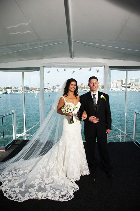 Newport Beach Yacht Wedding