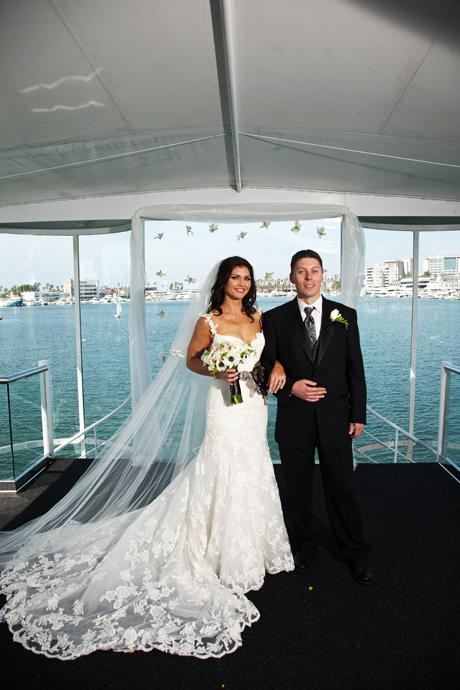 Newport Beach Yacht Wedding