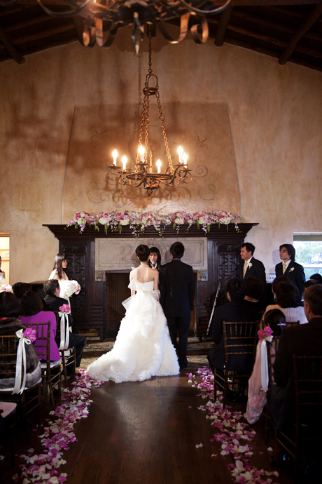 Indoor Wedding Reception at La Venta Inn