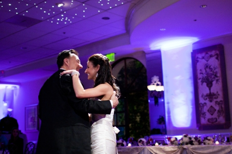 Father Daughter Dance at Turnip Rose Wedding Reception