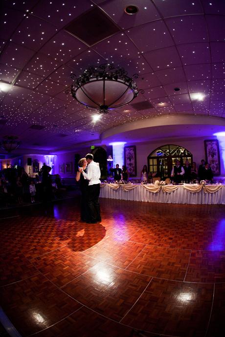 Mother Son Dance at Turnip Rose Wedding Reception
