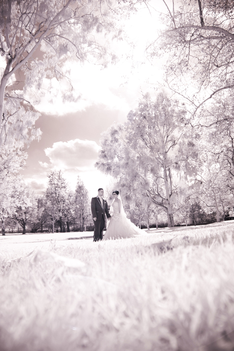 Infrared Wedding Photography Orange County