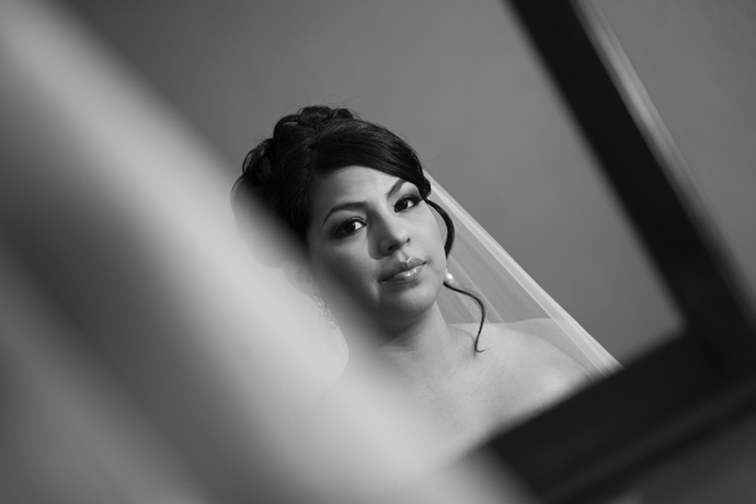 Bride at the Ayres Suites