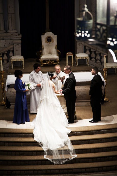 St Denis Catholic Church Wedding Ceremony