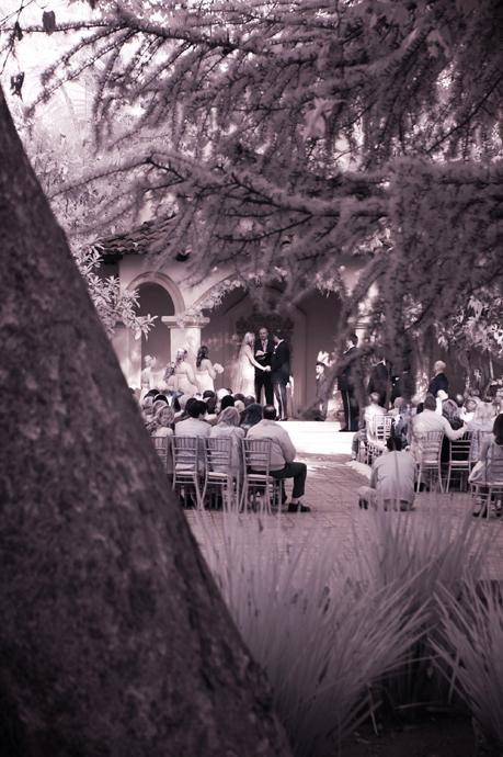 Infrared Wedding Photography at Rancho Las Lomas