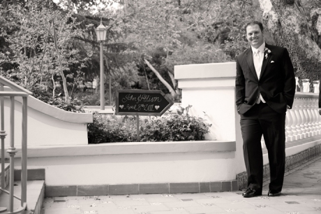 Groom at Rancho Las Lomas