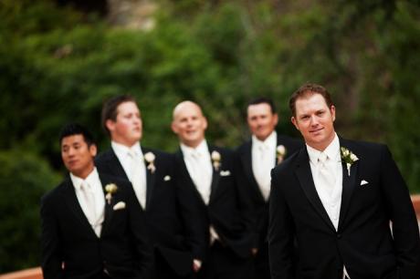 Groom and Groom's Men at Rancho Las Lomas