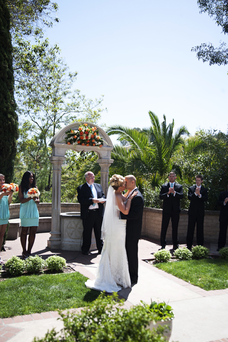 Wedding Ceremony at Balboa Park in San Diego