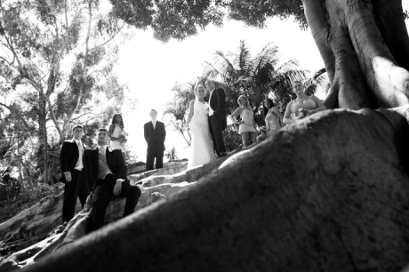 Bridal Party at Balboa Park San Diego