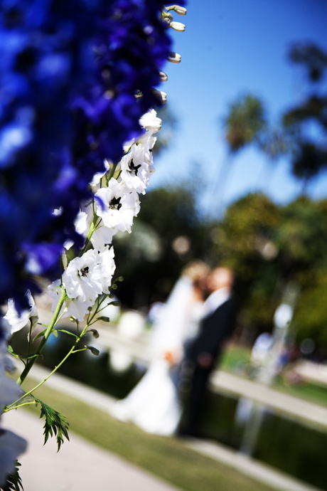 Bride and Groom at Balboa Park
