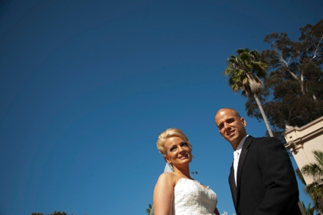 Balboa Park at San Diego Wedding