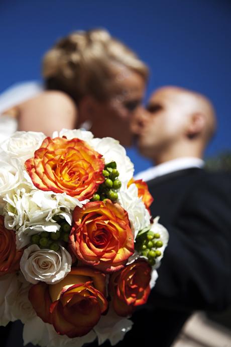 Bride and Groom at Balboa Park