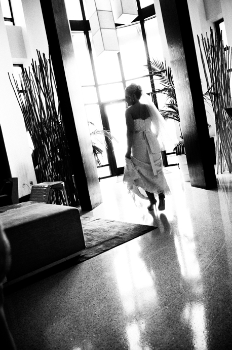 Bride at W Hotel San Diego