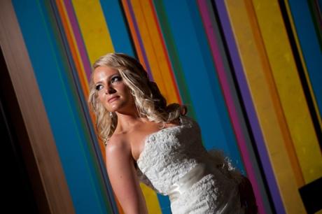 Bride at the W Hotel San Diego