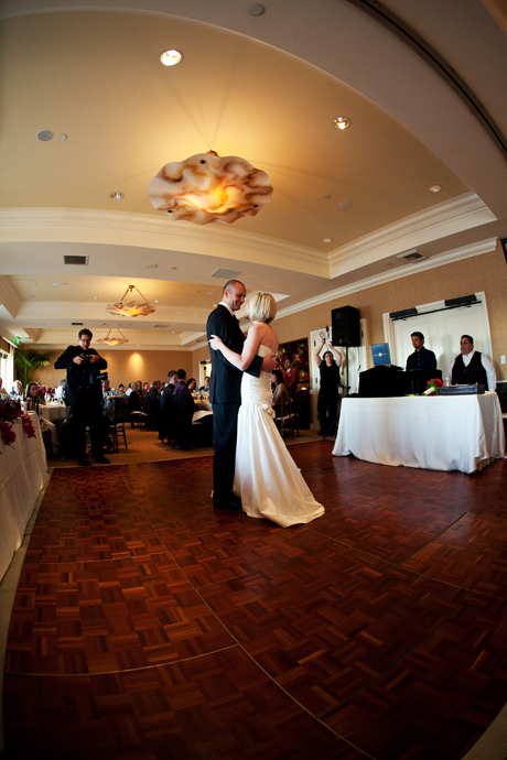 First Dance at Balboa Bay Club