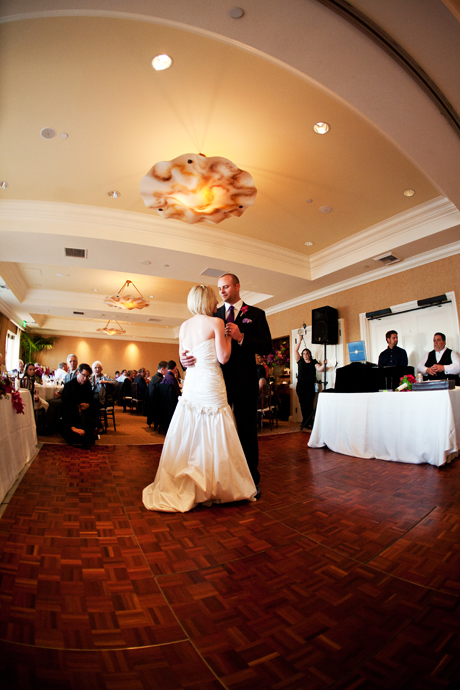 Wedding Reception at Balboa Bay Club
