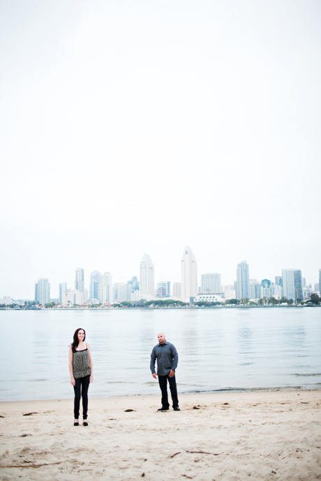 Engagement Pictures San Diego Skyline