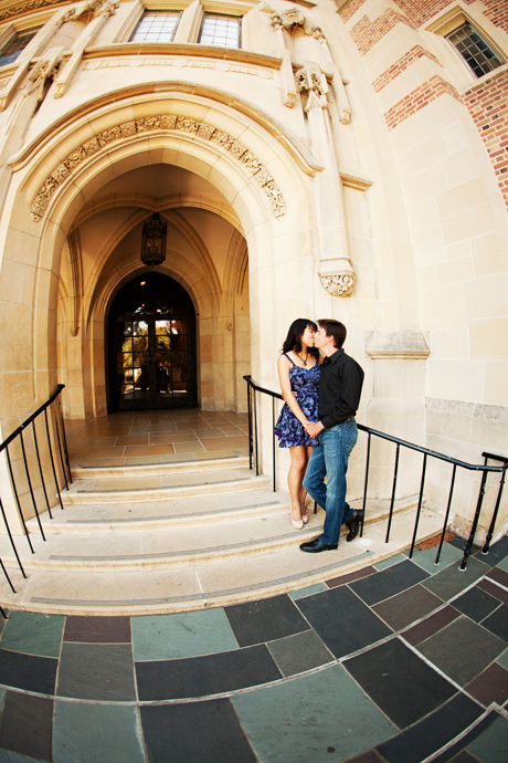 Engagement Pictures at UCLA