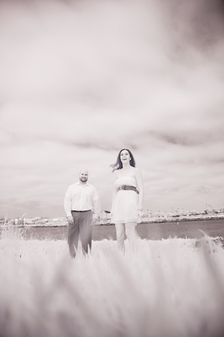 Infrared Engagement Photography in San Diego