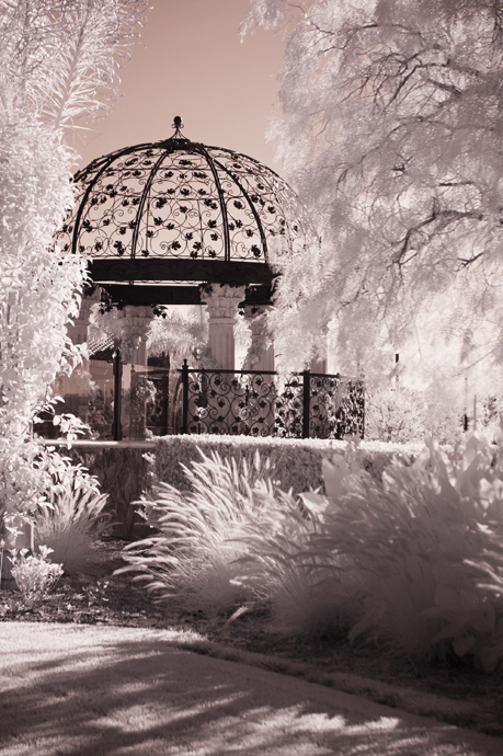 Infrared Wedding Photography at the Old Ranch Country Club
