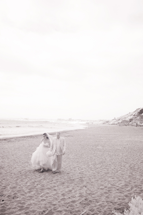Infrared Wedding Pictures at Malaga Cove
