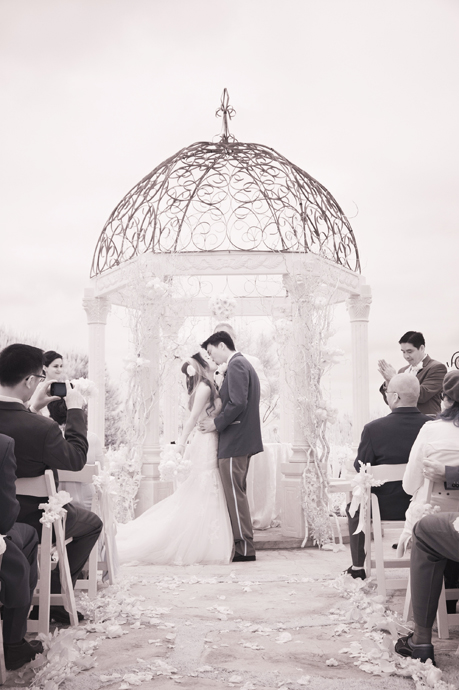 Infrared Wedding Pictures at St. Regis