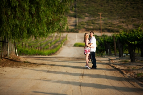 Van Roekel Winery Engagement Pictures
