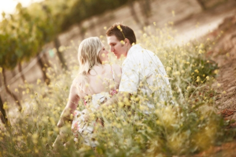Vineyard Engagement Pictures in Temecula
