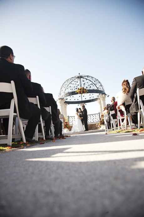 Wedding Ceremony at the Old Ranch Country Club