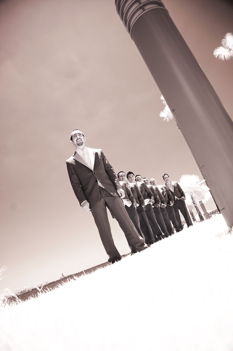 Infrared Wedding Photography in Long Beach