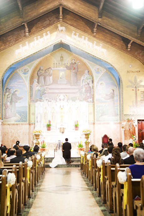 Catholic Wedding Ceremony in Long Beach