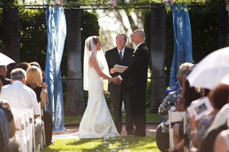 Muckenthaler Mansion Wedding Ceremony