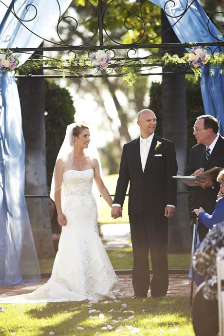 Muckenthaler Mansion Wedding Ceremony