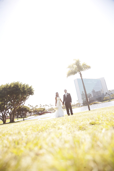Wedding Photography at Rainbow Lagoon Park in Long Beach