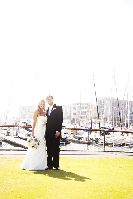 California Yacht Club Wedding