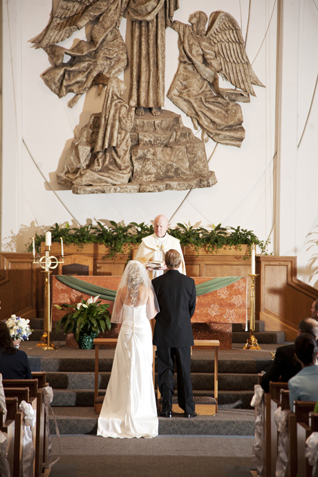 St. Lawrence Martyr Church Wedding Ceremony