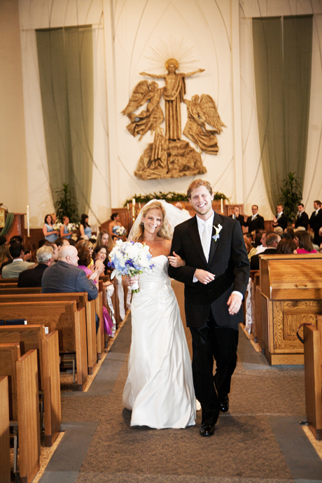 St. Lawrence Catholic Church Wedding