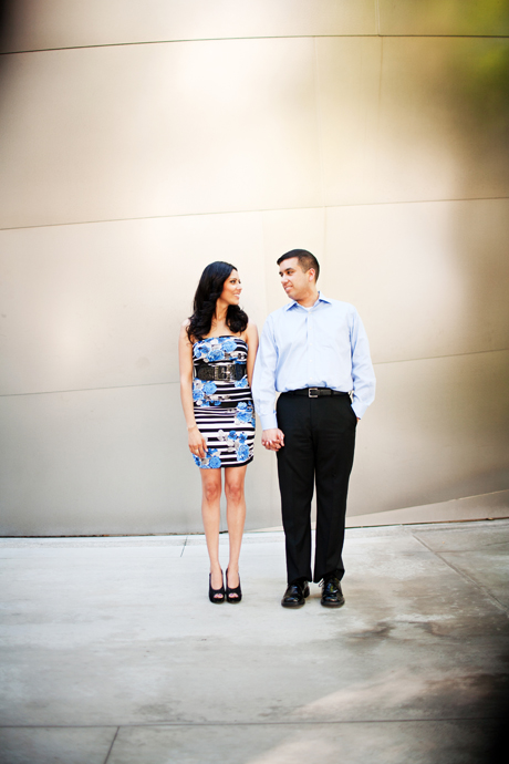 Engagement Photography at Disney Concert Hall