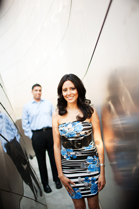 Engagement Photography Disney Concert Hall