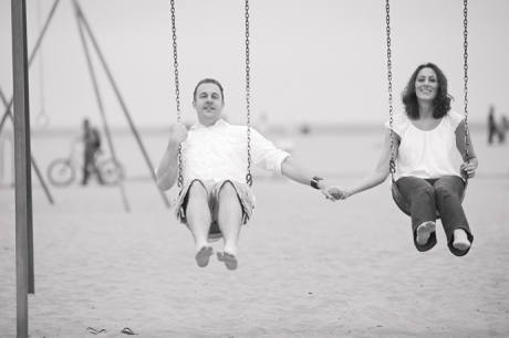 Engagement Pictures in Santa Monica