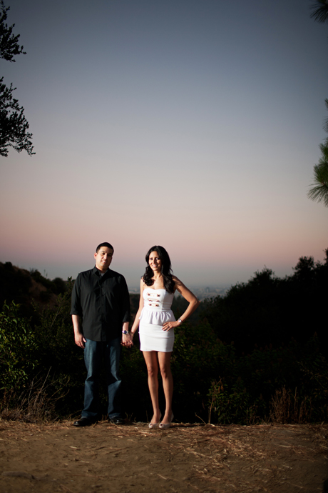 Griffith Park Engagement Pictures