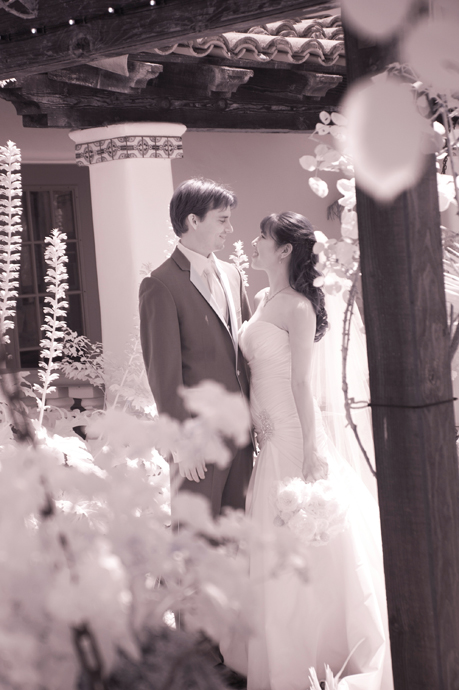 Infrared Wedding Photography at Rancho Las Lomas