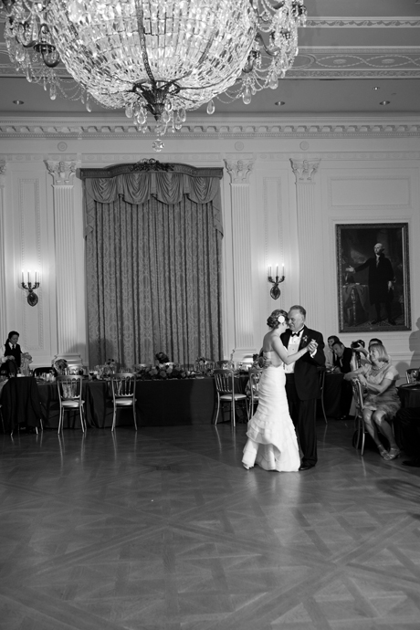 Nixon Library Wedding Reception