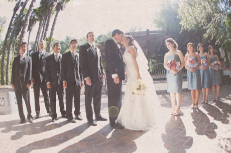 Bridal Party at Rancho Las Lomas