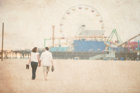 Engagement Pictures at Santa Monica Pier