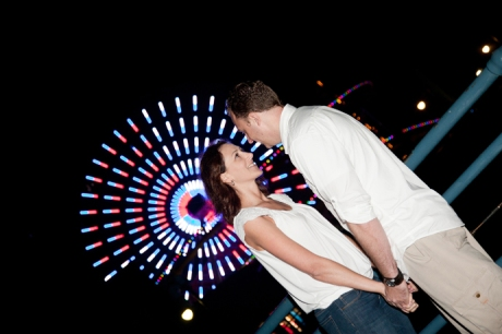 Engagement Photography at Santa Monica Pier